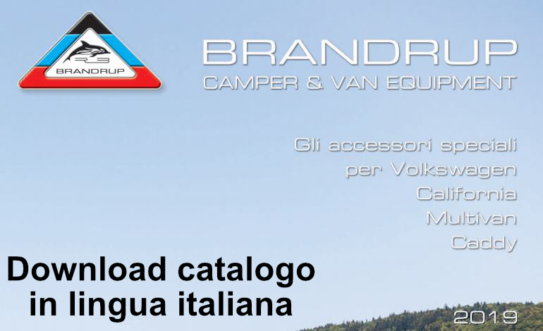 Catalogo Brandrup in lingua italiana